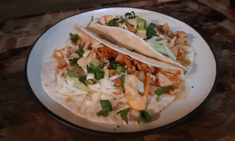 Pressure Cooker Korean Taco Recipe